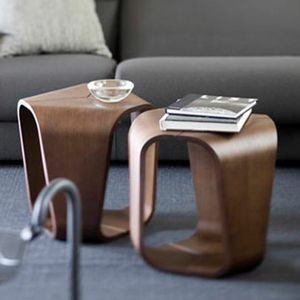 Infinity, Tavolino in legno curvo