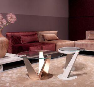 Klee, Tavolini da salotto, con design slanciato