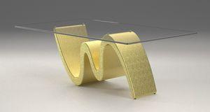 Morfeo, Tavolino con base effetto pietra