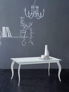 Paris tavolino rettangolare, Tavolino caff�, disegno alternativo, per Soggiorno