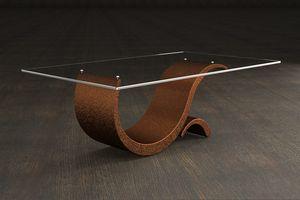 Prince, Tavolino pietra e vetro