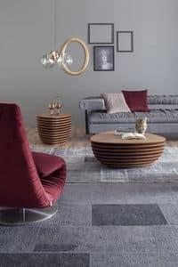 REA, Tavolino e servetto in legno, per zona living