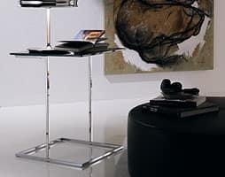 t107 stick, Tavolino per salotti, stile contemporaneo