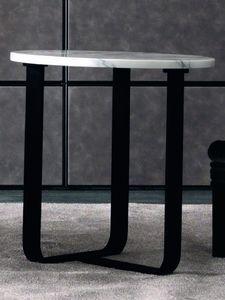 Tiago Art. 118-M, Tavolino moderno con piano tondo