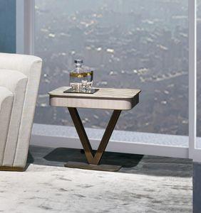 TL65 Viktoria tavolino, Tavolino quadrato in legno