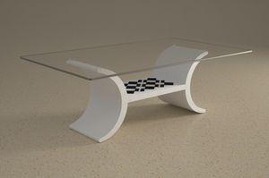 Turiacus, Tavolino con piano inferiore portaoggetti