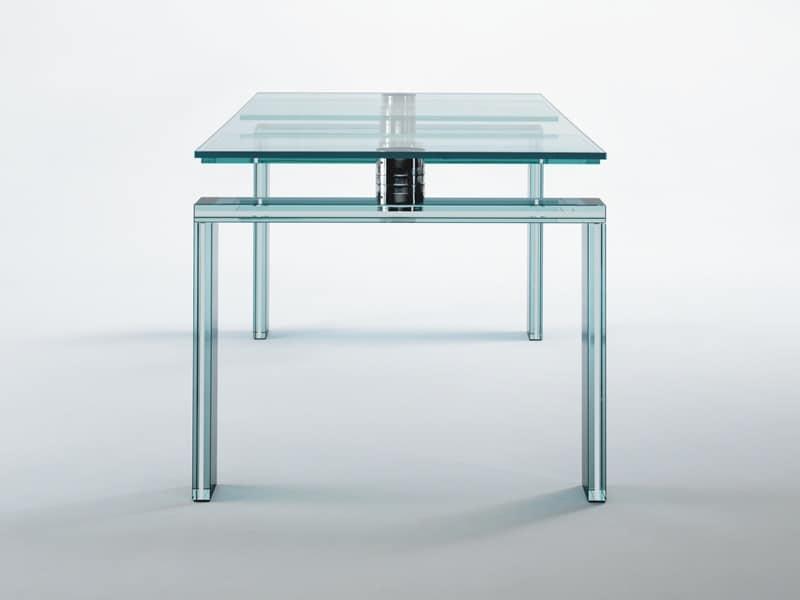 Tavolo salvaspazio cucina ispirazione interior design for Tavoli moderni vetro design