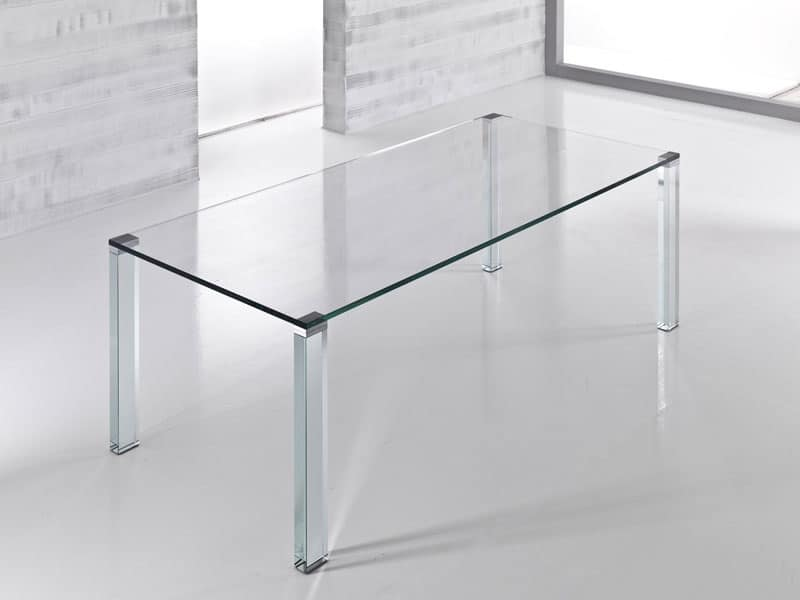 Top cucina ceramica piano in vetro for Glass tavoli cristallo