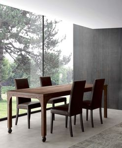 Art. 710TV Industrial Vintage Table, Tavolo vintage, struttura effetto ruggine