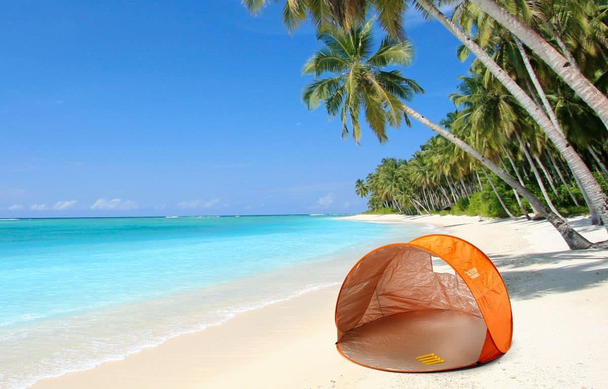 Aesy tenda da spiaggia piscinetta da spiaggia con mini piscina per