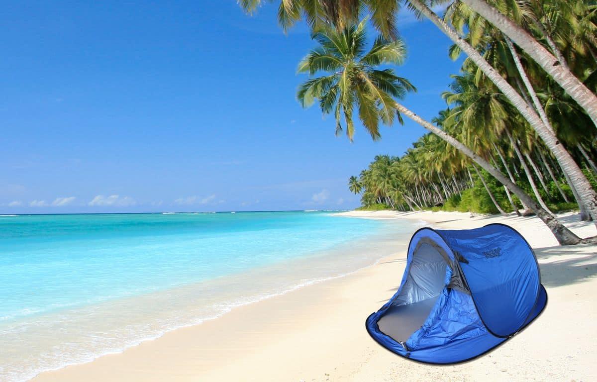 tenda da spiaggia o da campeggio idfdesign