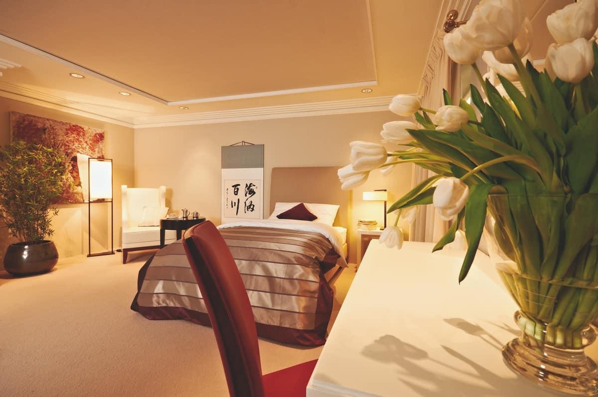 Testiera Per Letto Singolo : Testiera imbottita per letto singolo per hotel idfdesign