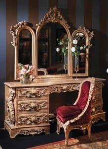 Immagine di Art. 3403, tavolini classici legno lavorato