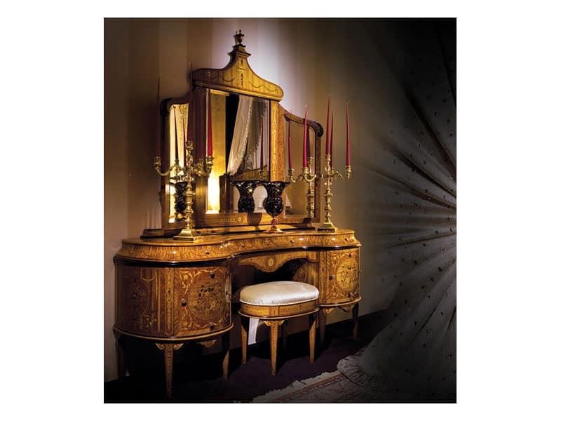 Tavolini elegantemente lavorato Camera albergo Art. 3465
