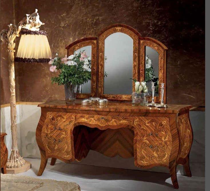 Toilette classica per camere da letto idfdesign - Camere da letto classiche di lusso ...