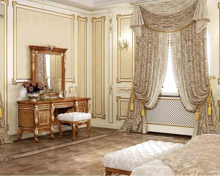 toilette classica di lusso in legno per camere da letto idfdesign. Black Bedroom Furniture Sets. Home Design Ideas