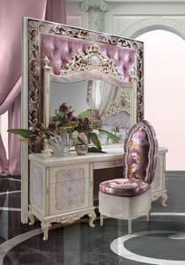 Immagine di Bijoux C/744, tavolino di lusso intagliato a mano
