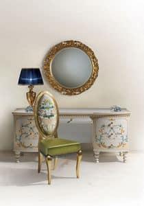 Immagine di Calipso C/594, tavolini classico legno intagliato