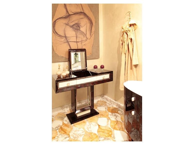 Dolce vita toilette 2 toilette classica di lusso toilette con specchio toilette porta oggetti - Specchio ovale camera da letto ...