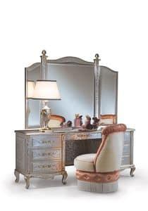 Immagine di Lisa C/364/3, tavolino di lusso decorato a mano