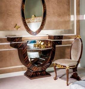TS05, Toilette in ebano ideale per camere da letto di lusso