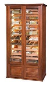 82437 Grand Clima, Umidificatori per sigari, vetrina climatizzata per tabaccheria