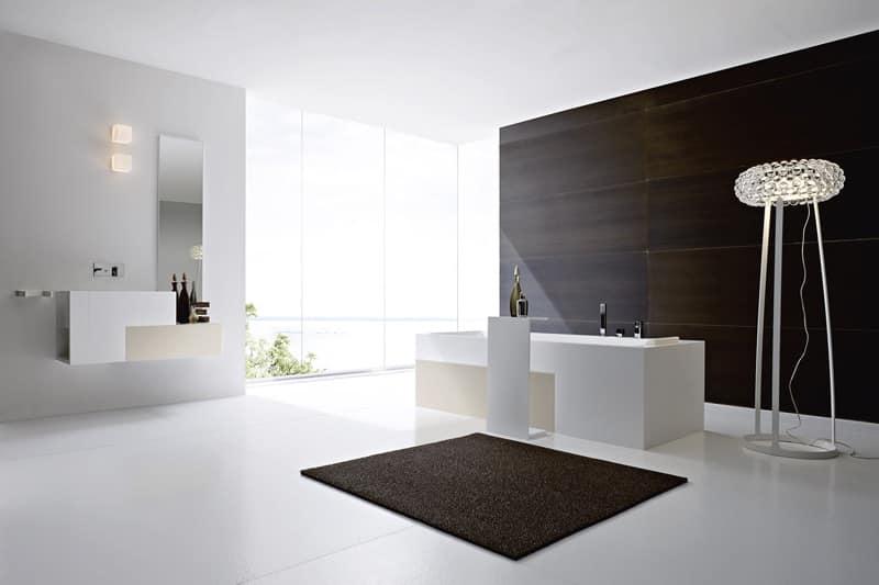 Bagno moderno vasca [tibonia.net]