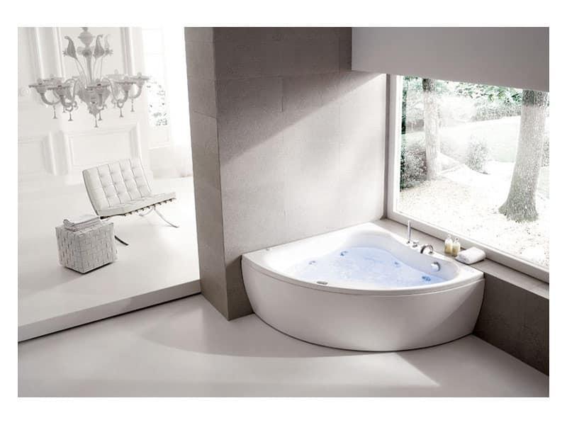 Vasca Da Bagno Vetroresina Prezzi: Da bagno vetroresina rinforzata 170x70 quadrata.