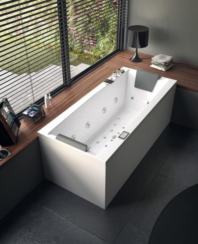 Vasca da bagno moderna con idromassaggio varie dimensioni - Vasche da bagno design ...