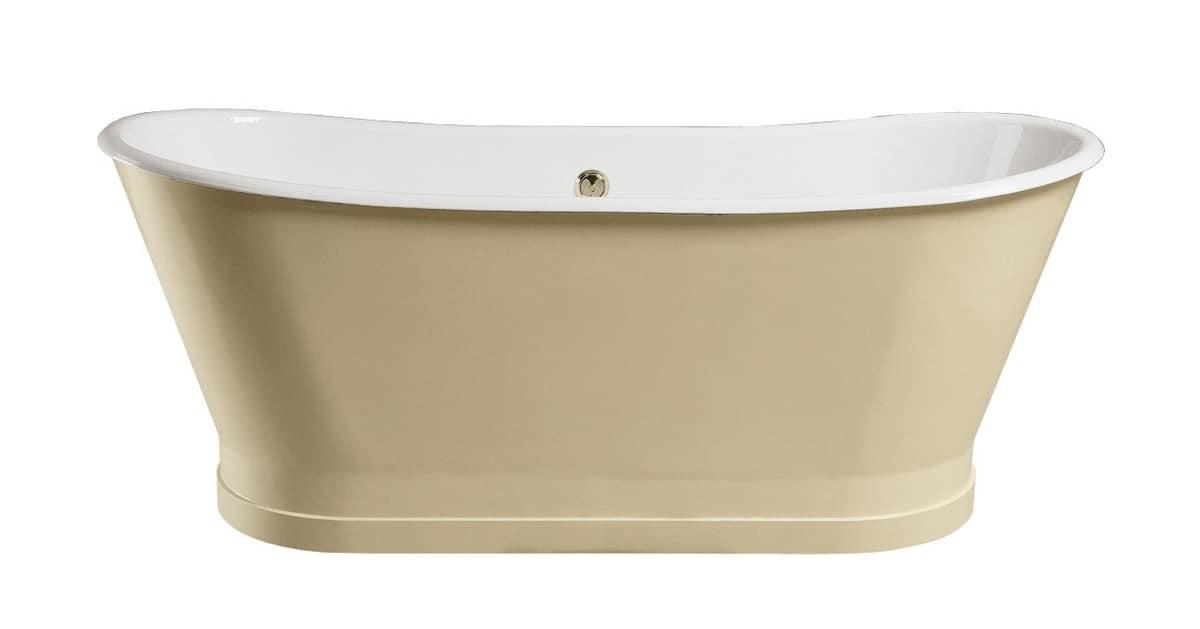 Vasca da bagno classica dallo stile raffinato idfdesign - Vasca da bagno classica prezzi ...