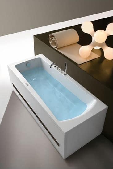 Vasca da bagno rettangolare professionale per spa - Immagini vasche da bagno ...