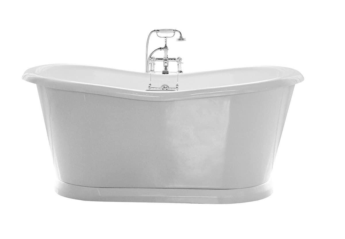 Vasca da bagno in acrilico stile classico idfdesign - Vasca da bagno acrilico ...
