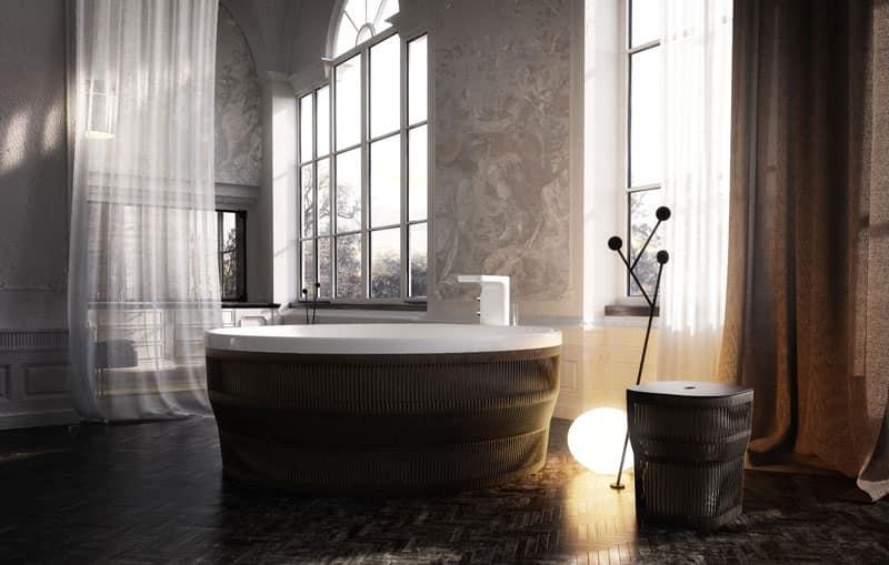 Vasca Da Bagno Per Hotel : Vasca da bagno moderna elegante e funzionale per albergo idfdesign