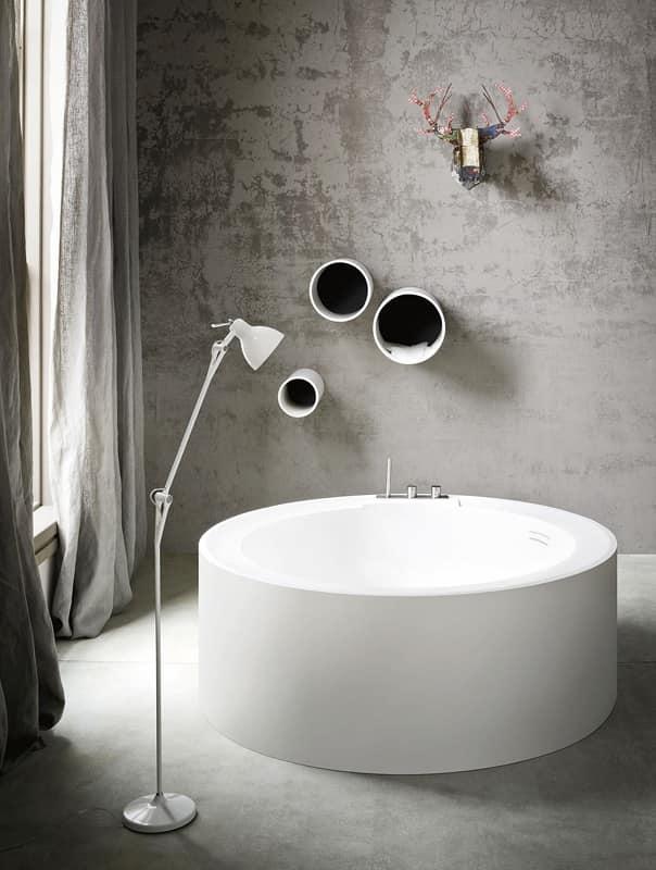 Bagno sanitari vasche idromassaggio idf - Vasca da bagno rotonda ...