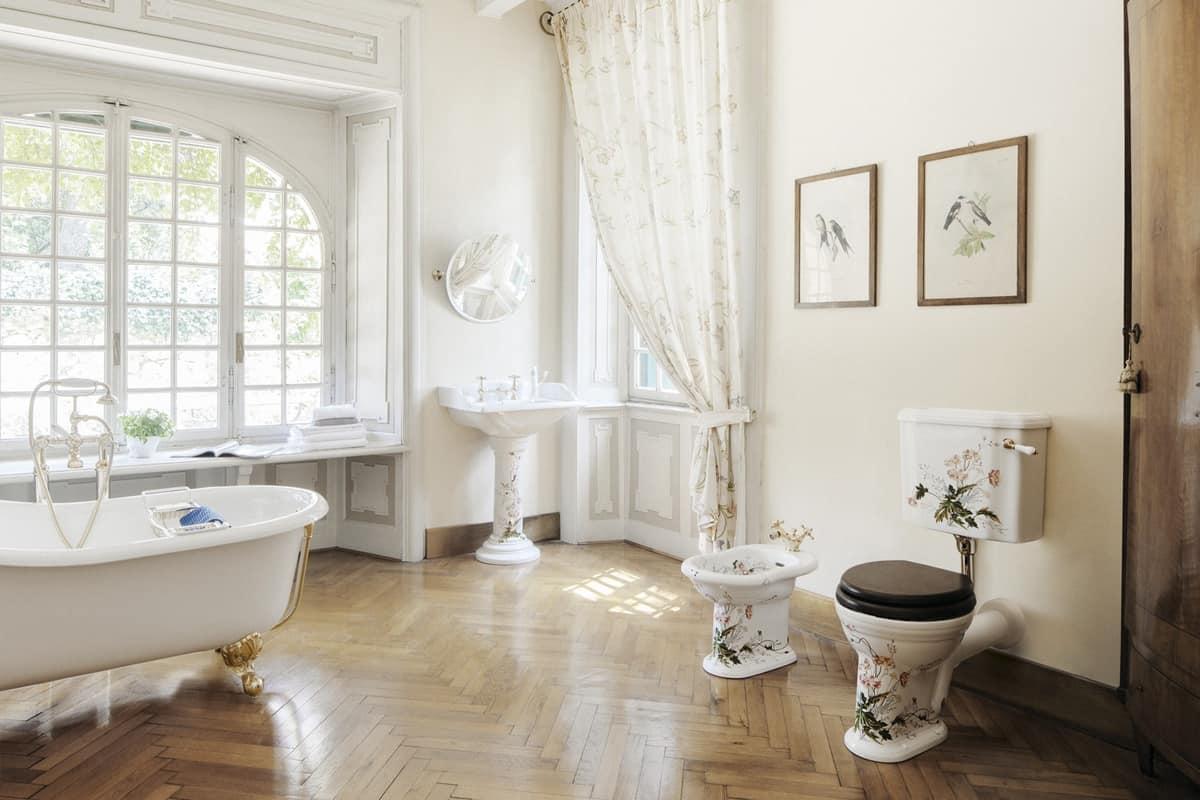 Vasca da bagno in ghisa per centro stanza idfdesign - Vasche da bagno eleganti ...