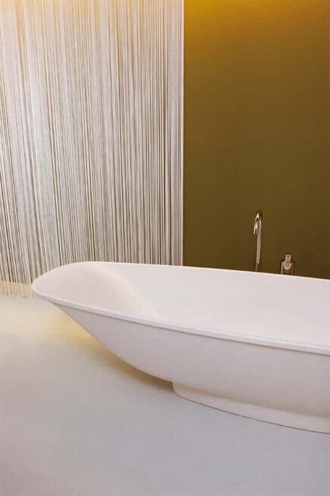 Kea FreeStanding, Vasca da bagno in Cristalplant, free-standing