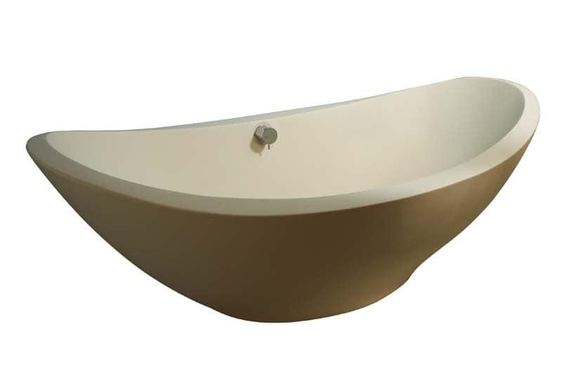 Vasca da bagno free-standing, in resina titanica  IDFdesign