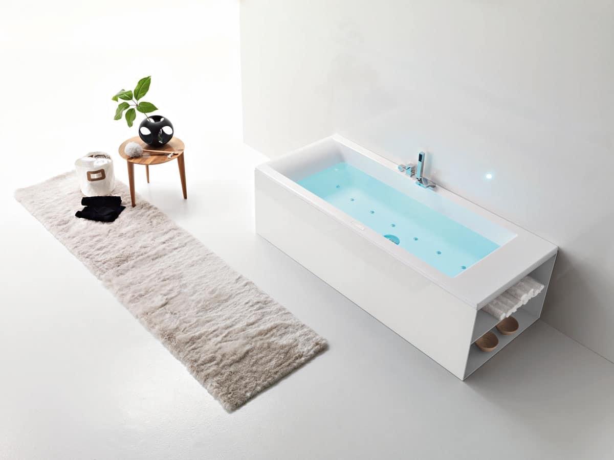 Bordo Vasca Da Spa : Vasca da bagno moderna comandi a bordo vasca idfdesign