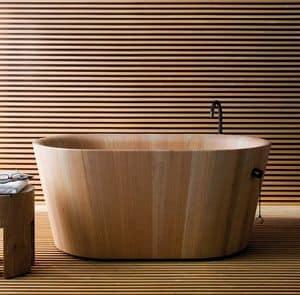 Ofur�, Vasca bagno in legno, in stile giapponese