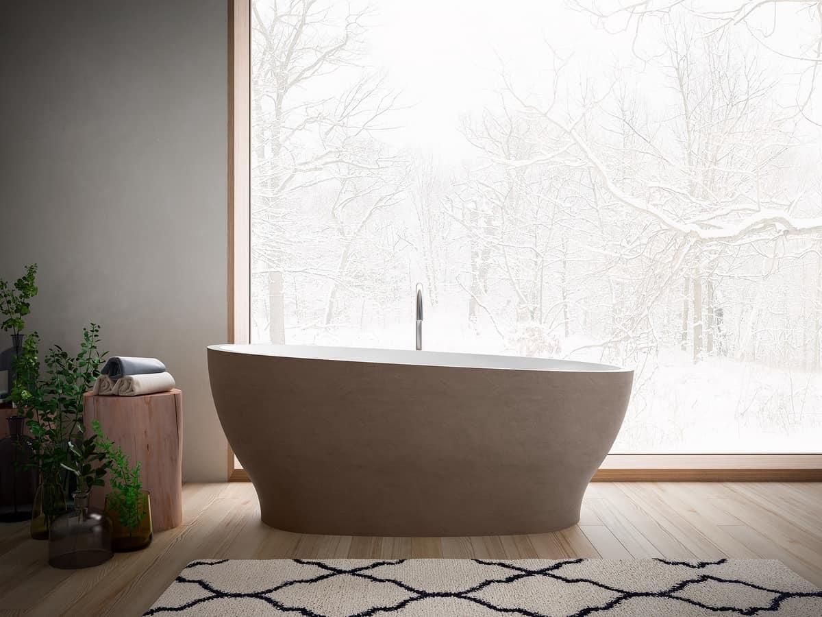 Vasca Da Bagno Ovale : Hoesch badewannen vasca da bagno singlebath uno