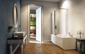 POP-UP, Vasca idromassaggio con box doccia, varie dimensioni