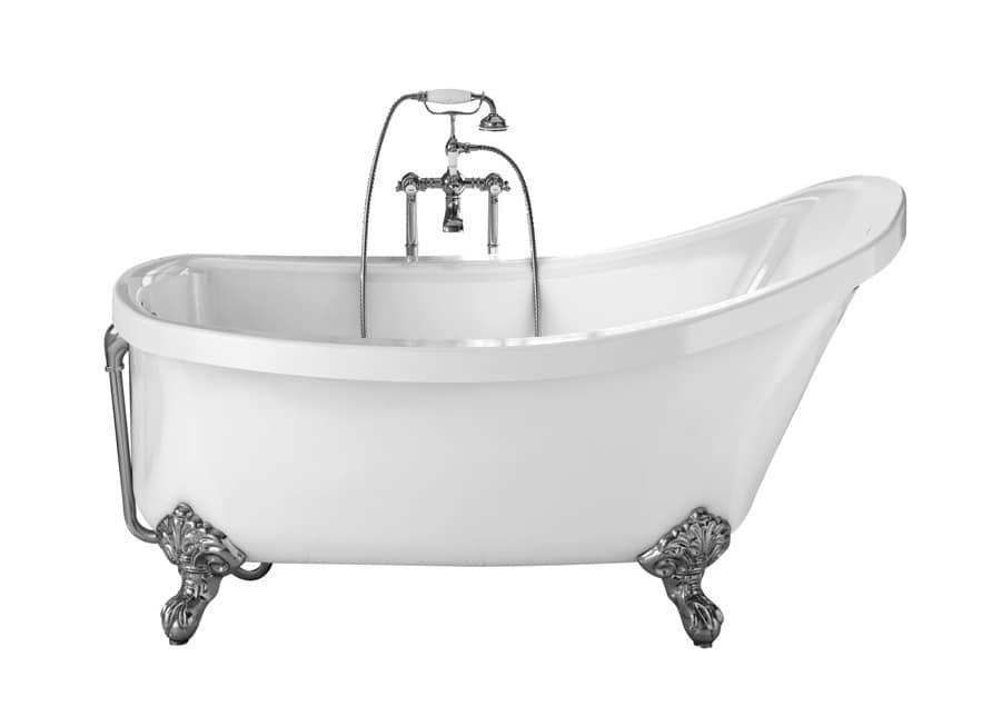 Vasca Da Bagno Acrilico : Vasca da bagno in acrilico stile classico idfdesign