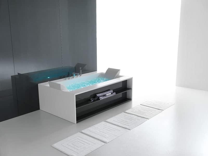 Vasca da bagno moderna, vari colori, per area benessere  IDFdesign