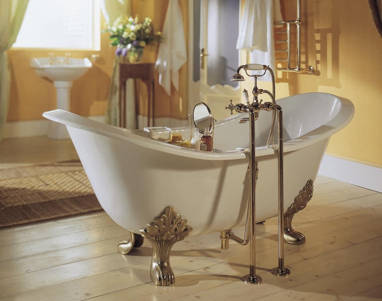 Vasca da bagno con piedi disponibile in varie finiture - Gambe vasca da bagno ...
