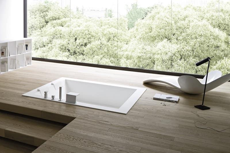 Vasca Da Bagno In Cemento : Vasche da bagno in muratura design casa creativa e vasca da