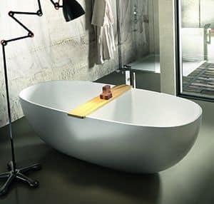 Vasca freestanding con idromassaggio per camera d 39 albergo - Vasca da bagno piccola ...