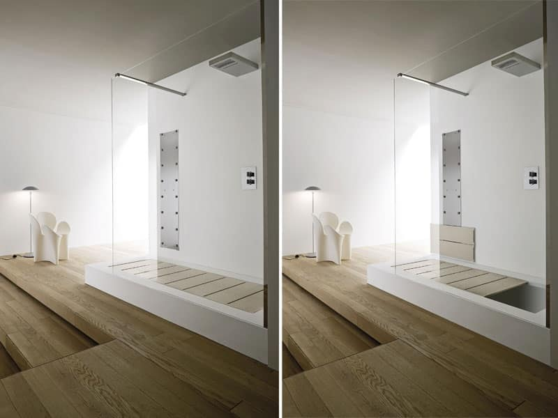 VASCA DOCCIA semi incasso, Vasca da bagno Resort - IDFdesign