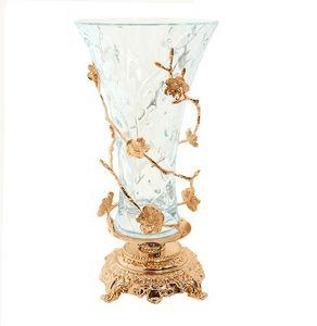 3007, Vaso in stile classico, con decori floreali