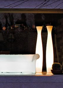 Scarlett, Vasi lumonosi, con effetto plissettato sulla superficie