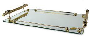 1401, Vassoio in vetro ed ottone